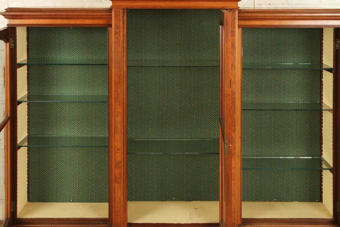 AMERICAN VICTORIAN WALNUT BOOKCASE CIRCA 1870 - 4