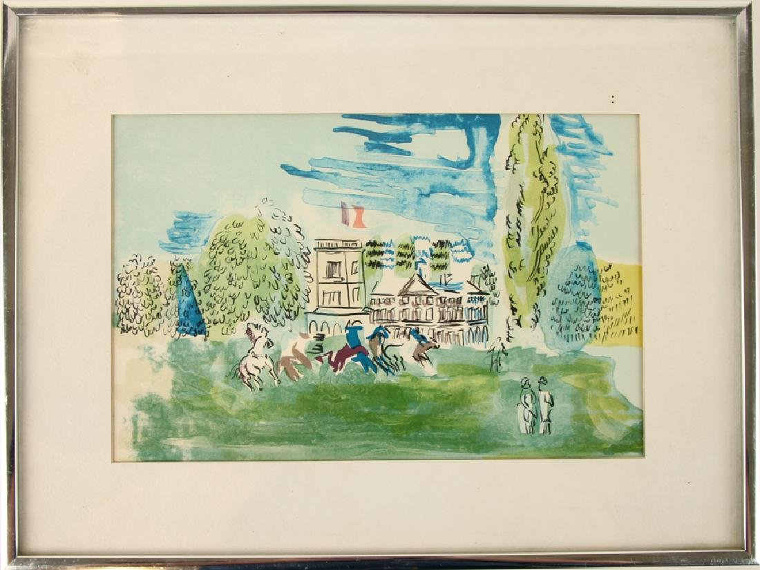 SCHOOL OF RAOUL DUFY WATERCOLOR ON PAPER