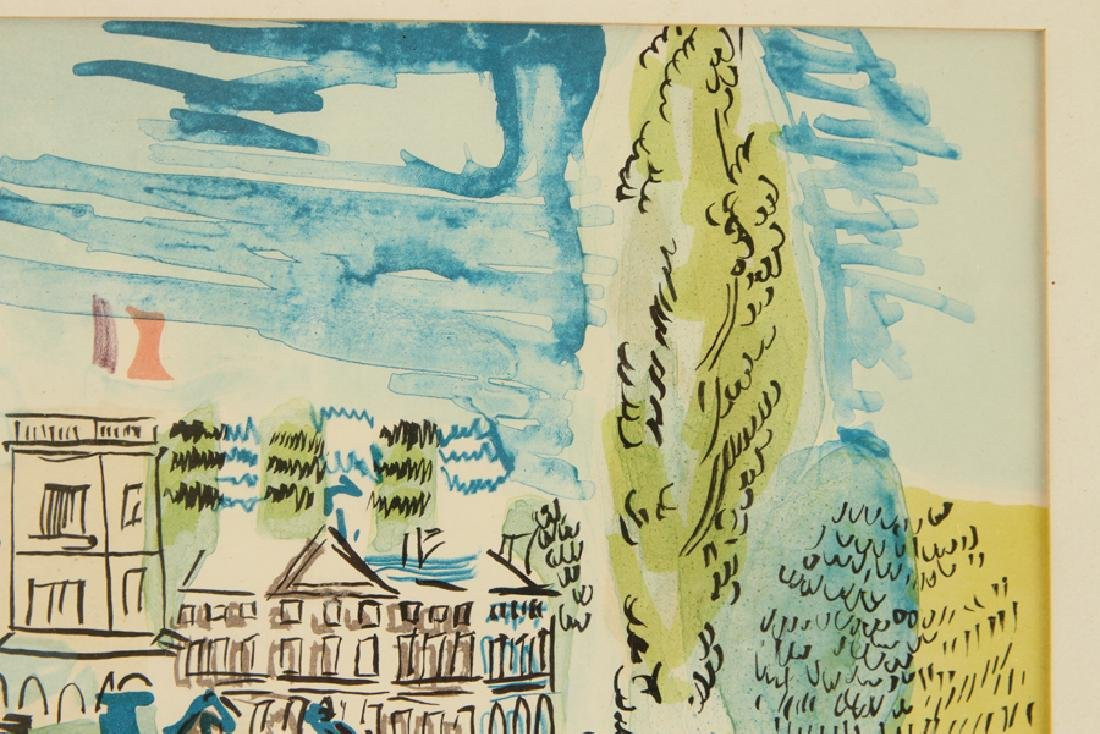 SCHOOL OF RAOUL DUFY WATERCOLOR ON PAPER - 2