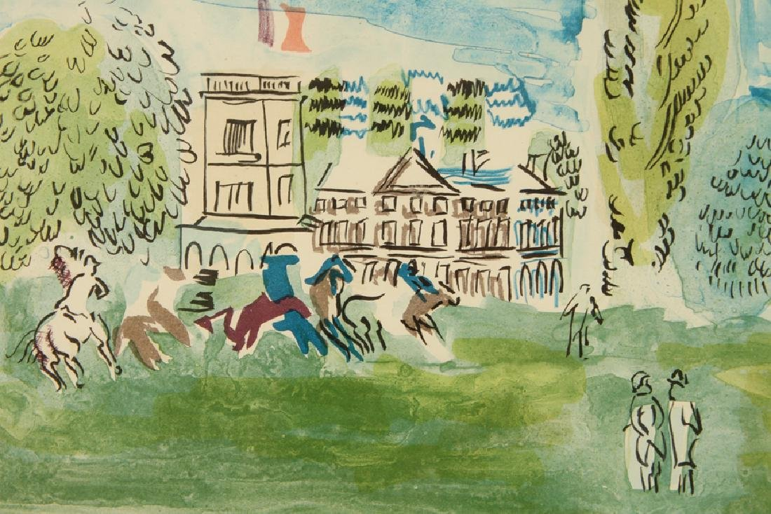 SCHOOL OF RAOUL DUFY WATERCOLOR ON PAPER - 3