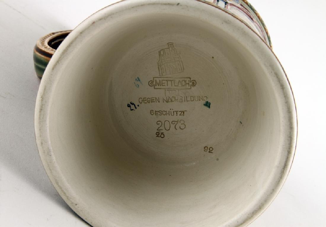 GERMAN METTLACH BEER STEIN #2073 MARBURG MARKED - 4
