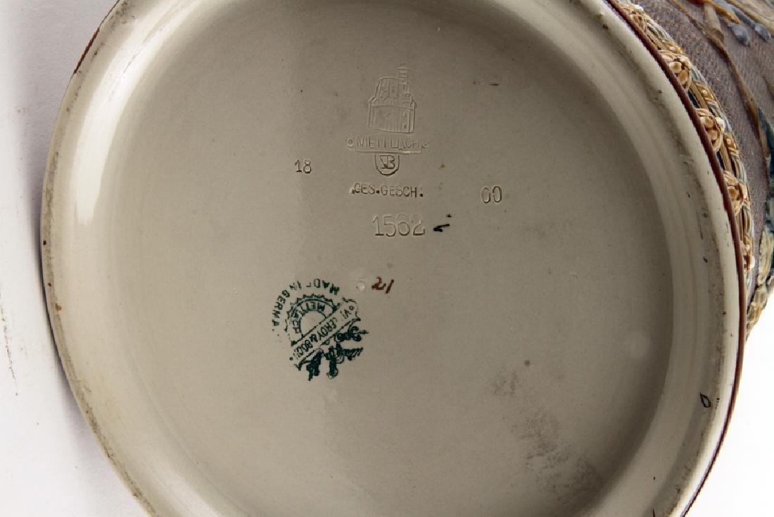 GERMAN METTLACH BEER STEIN #1562 TRUMPETER 5.65L - 5