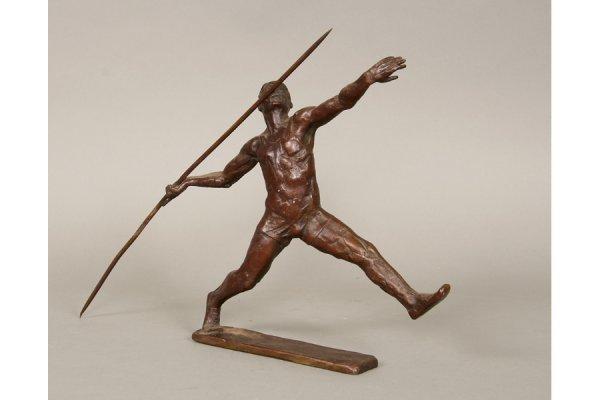 8: 8: Bronze Statue Sterett Gittings Kelsey (American)