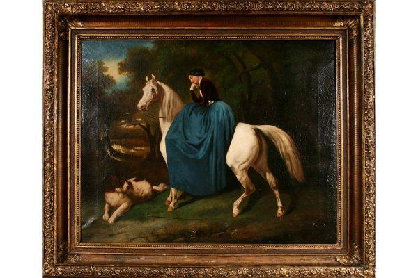 59: 59: Alfred De Dreux French 1810-1860 Attr Horse