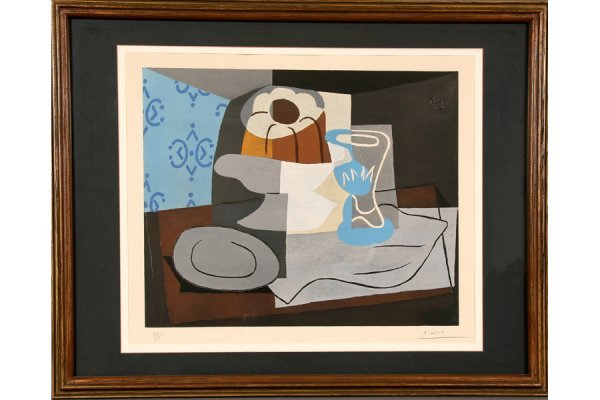 120: 120: Pablo Picasso Spanish Color Lithograph