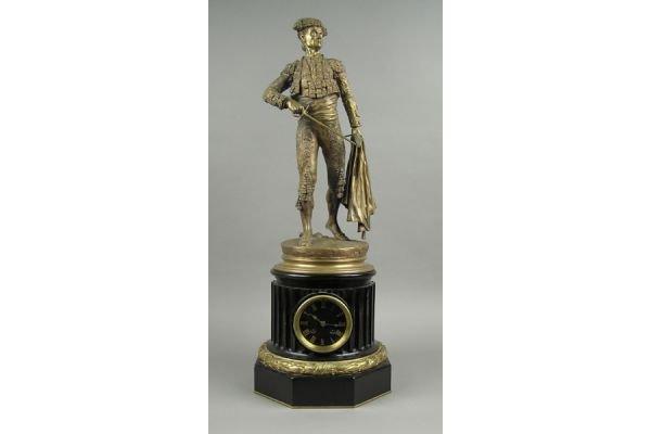 14A: Pierre Jules Mene (French 1810-1879) bronze matado