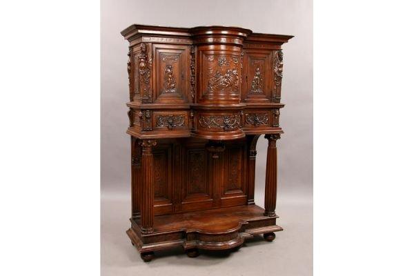 297A: 19th c. Italian cupboard