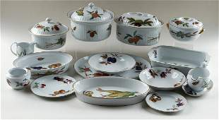 THIRTYNINE PIECES ROYAL WORCESTER PORCELAIN
