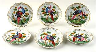12 LATE 19TH CENT FRENCH LIMOGES PORCELAIN PLATES