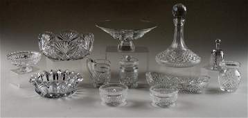 12 PC LOT OF CRYSTAL TABLE ARTICLES WATERFORD