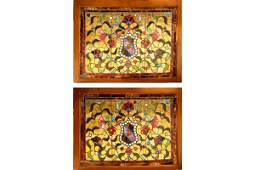 135: Pr American Victorian stained glass windows
