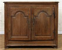 EARLY 19TH C FRENCH PROVINCIAL OAK BUFFET