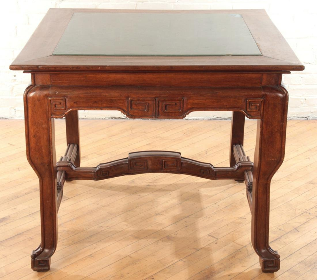 LATE 19TH CENT. FRENCH MAHOGANY OCCASIONAL TABLE