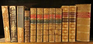 12 VOLUMES HISTORY GEOGRAPHY MUSIC POETRY