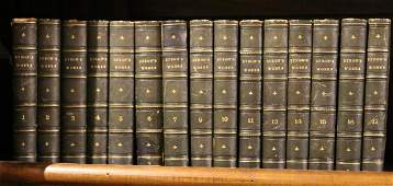 15 VOLUMES THE WORKS OF LORD BYRON THOMAS MOORE