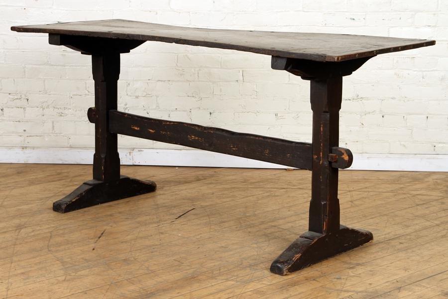 CONTINENTAL OAK CONSOLE TABLE CIRCA 1870