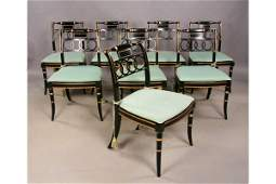 180 8 Baker historic Charleston dining chairs