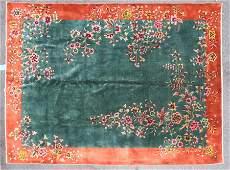 CHINESE ART DECO RUG CIRCA 1940
