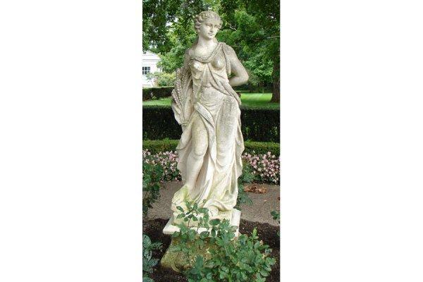 2: Vicenza stone garden figure Autumn with base
