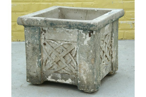 10: rare numbered Galloway Art Deco garden urn