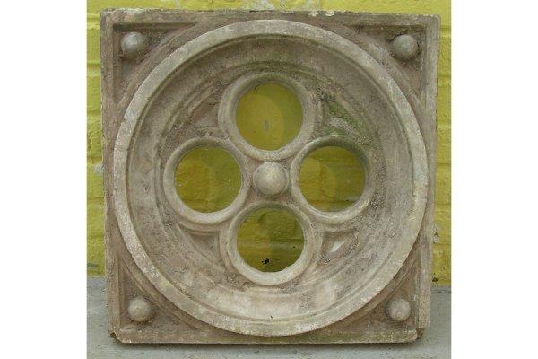 24: Group 6 antique garden Gothic stone panels