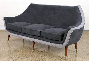 UPHOLSTERED SOFA MANNER OF ADRIAN PEARSALL C.1950