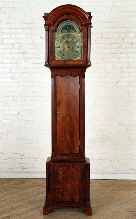 GEORGE III TALL CASE CLOCK BY WILSHIRE LINK