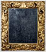19TH C. ITALIAN CARVED AND GILT WOOD MIRROR