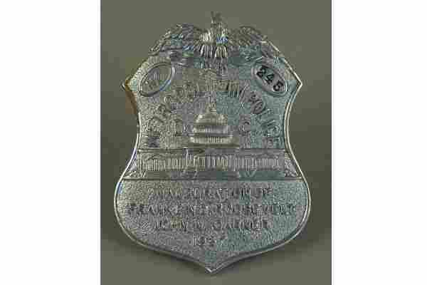 VINTAGE WASHINGTON D.C. METROPOLITAN POLICE N