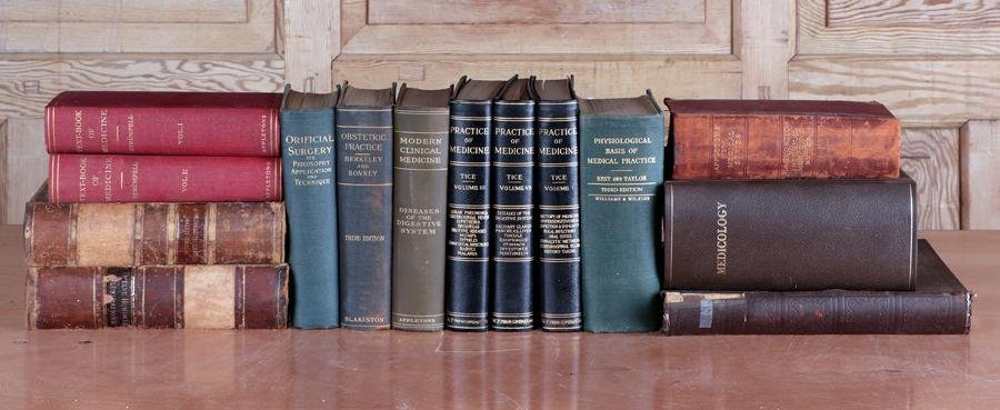 64 VOLUMES MEDICAL SCIENCE BOOKS