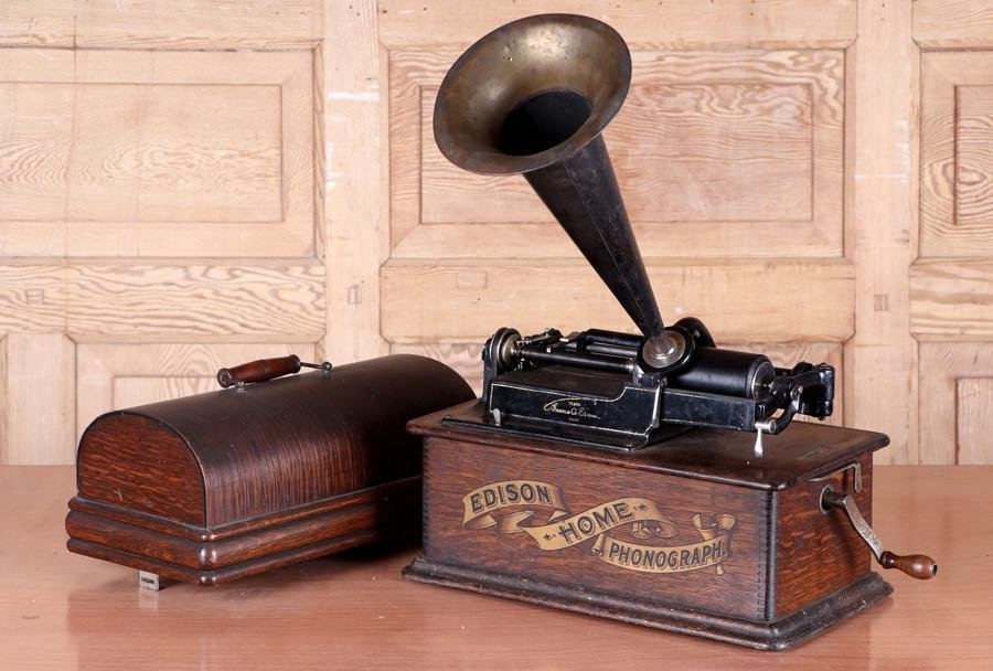 EDISON BANNER HOME PHONOGRAPH RECORD PLAYER
