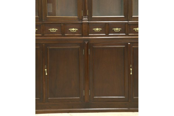 595: PR LG ANTIQUE BOOKCASES PHARMACY CABINETS - 5