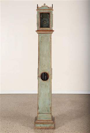 EARLY 19TH C. CONTINENTAL TALL CASE CLOCK