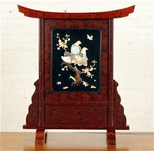 EARLY 20TH C. CHINESE TABLE TOP SCREEN
