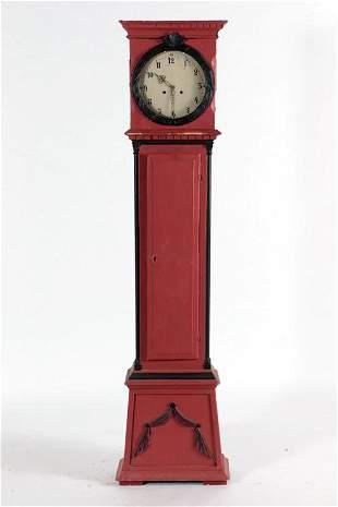 CLAUS CHRISTIAN HOLM GRANDFATHER CLOCK 1810
