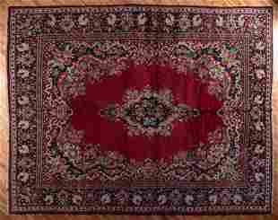 SEMI ANTIQUE PERSIAN MAHAL RUG