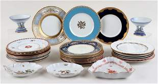 THIRTY THREE PIECES OF ASSORTED PORCELAIN