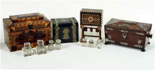 COLLECTION OF 19TH CENTURY TABLE TOP OBJECTS