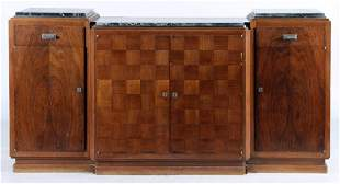 FRENCH ROSEWOOD SIDEBOARD SIGNED BY JULES CAYETTE