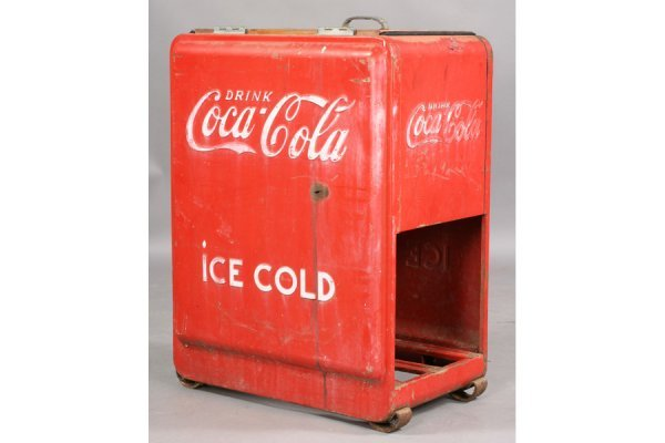 478: VINTAGE COKE COCA-COLA ICE BOX SODA