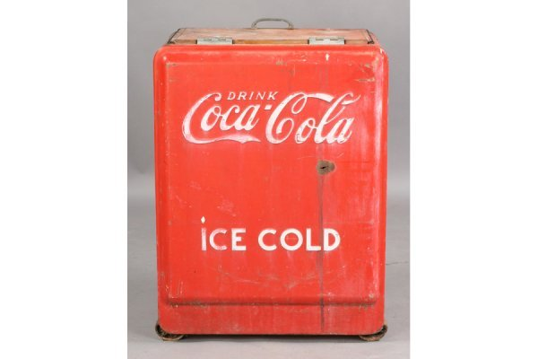 478: VINTAGE COKE COCA-COLA ICE BOX SODA - 2