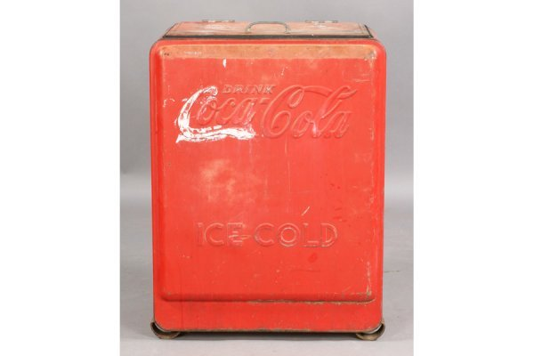 478: VINTAGE COKE COCA-COLA ICE BOX SODA - 3
