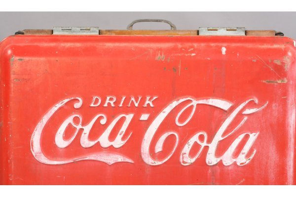 478: VINTAGE COKE COCA-COLA ICE BOX SODA - 5