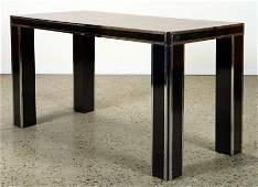 WALNUT DINING TABLE MANNER PAUL EVANS C. 1970