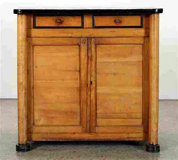 19TH CENTURY CONTINENTAL TWO DOOR CABINET
