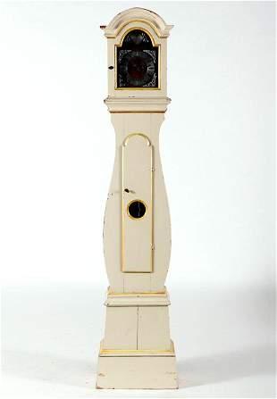 SWEDISH MORA PINE GRANDFATHER CLOCK C.1820