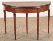 19TH C. FRENCH FLIP TOP GAMES TABLE