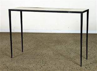 IRON & PARCHMENT CONSOLE TABLE MANNER FRANK