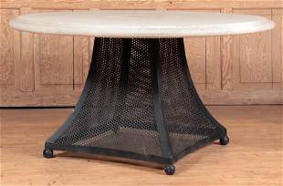 MODERNISTY STYLE SHEET IRON TABLE COMPOSITION TOP