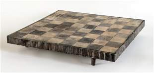 ITALIAN IRON GAMES BOARD ATTR. TO BURKIELLARO 1965